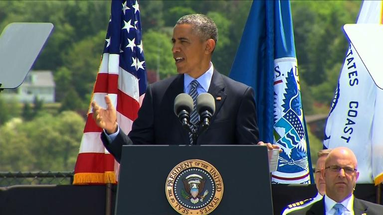 Obama calls for urgent attention to climate change