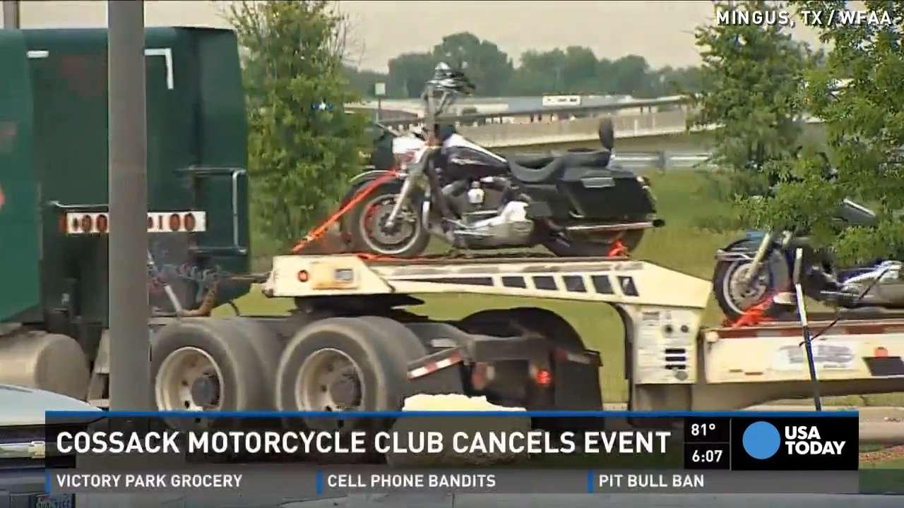 Texas bracing after biker event canceled