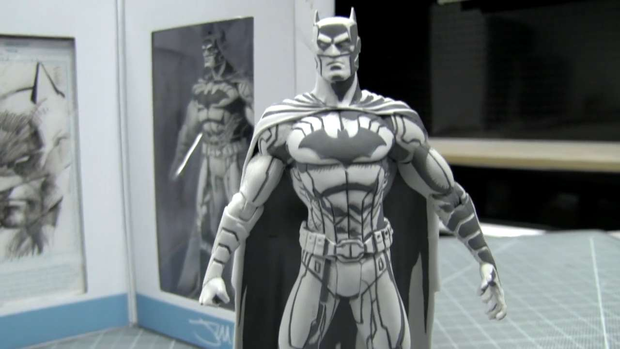 Exclusive: Jim Lee debuts Batman figure for Comic-Con