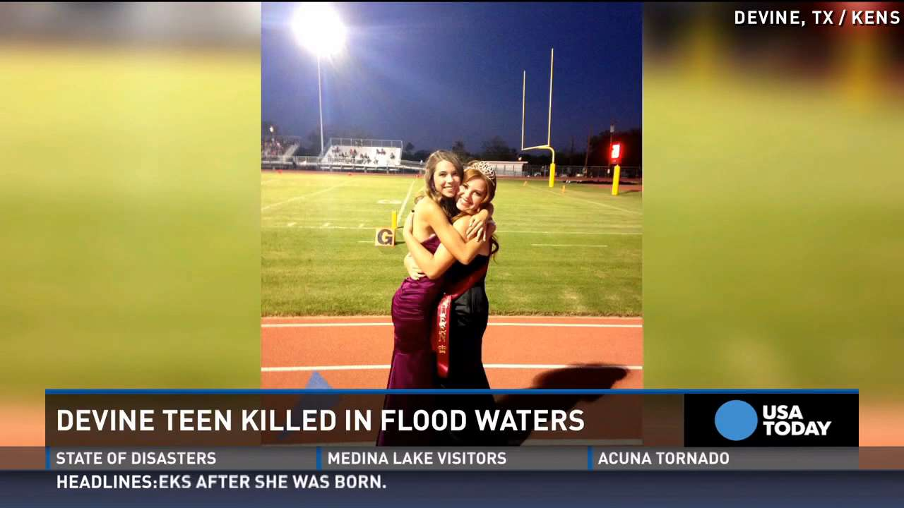 Flood kills homecoming queen driving home from prom