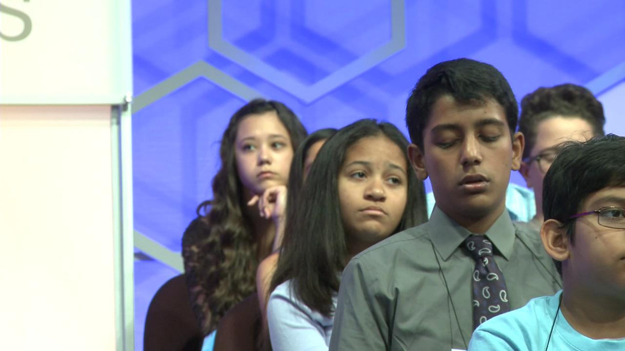 Sleepy spellers | 2015 National Spelling Bee