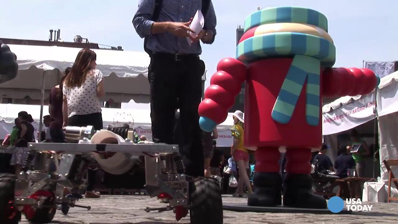 Google's New York City 'Geek Street Fair'