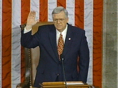 Former U.S. House Speaker Dennis Hastert Indicted
