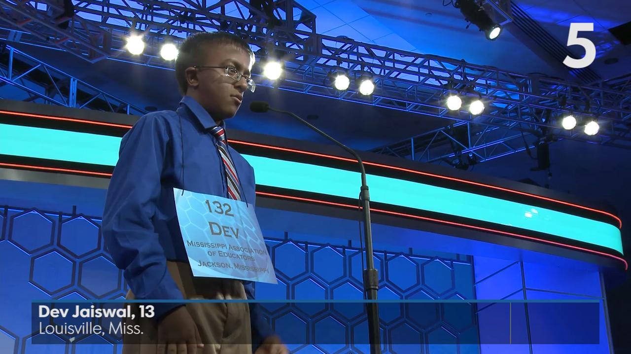 The countdown to crowning the National Spelling Bee champions