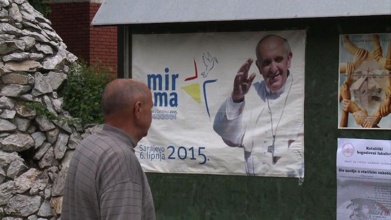 Bosnian catholics await Pope's visit with great hope