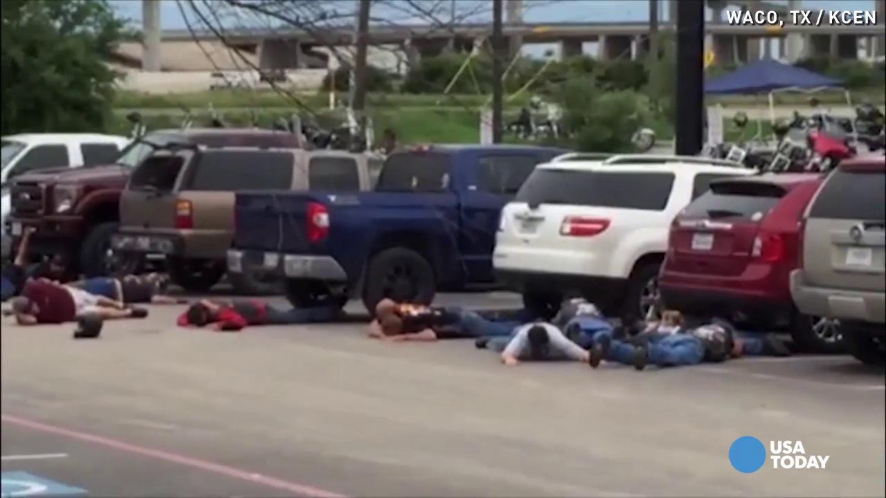 Bikers in Waco shootout recall 'inhumane' arrests