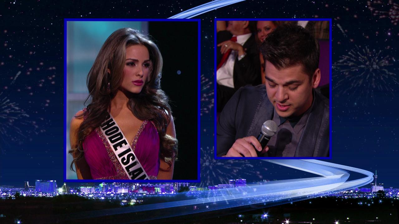 Oliva Culpo answers Miss USA question in 2011
