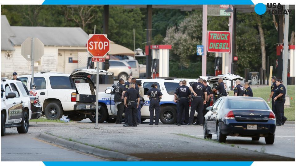 Police: Suspect in attack on Dallas police HQ is dead