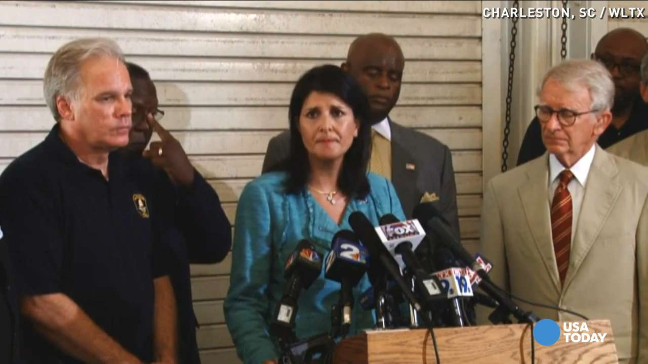 Gov. Haley cries: 'Heart and soul of S.C. was broken'