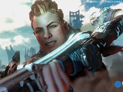 Surprise of E3 'Horizon Zero Dawn' features female lead