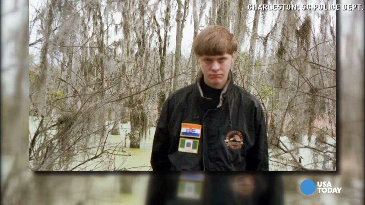 Images of Dylann Roof suggest racist ideology