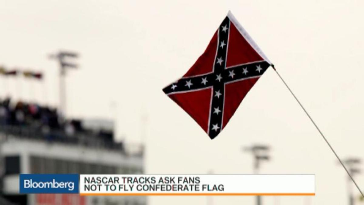 Nascar tracks ask fans not to fly confederate flag