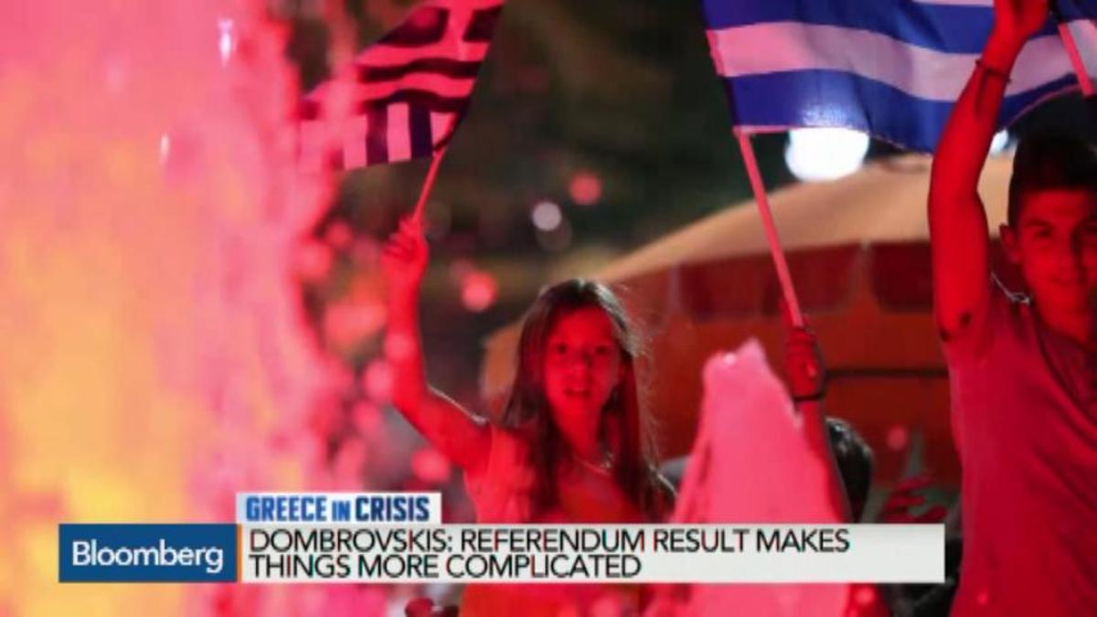 What exactly did Greece say no to?