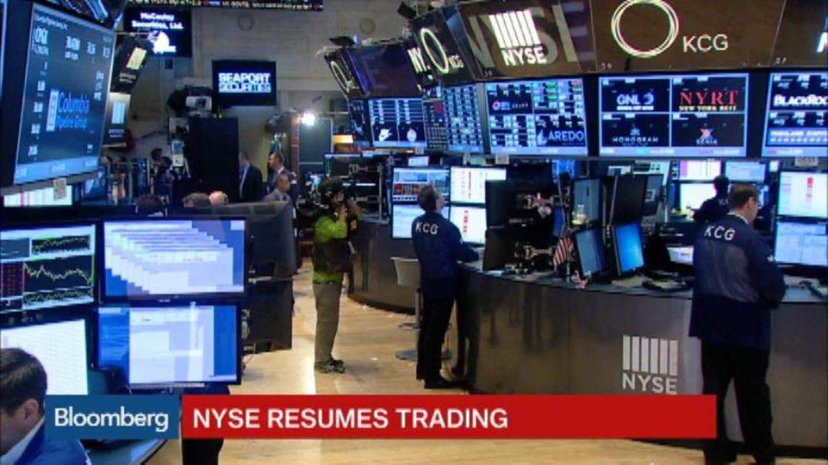 nyse trading hours today