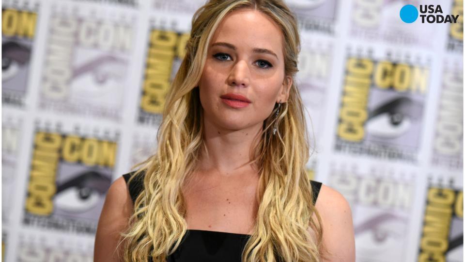 Jennifer Lawrence, 'Mockingjay' take a bow at Comic-Con