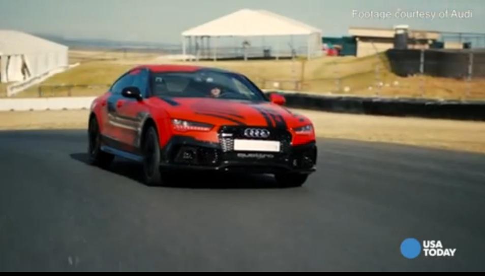 Audis Screaminghot Race Car Drives Itself - Audi car that drives itself