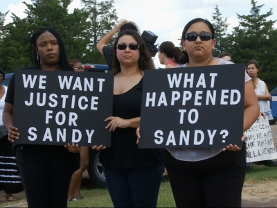 Protesters Question Woman's Death in Texas Jail