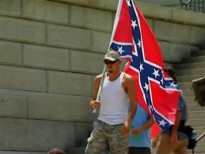 Black Group, KKK Hold Rallies at SC Statehouse