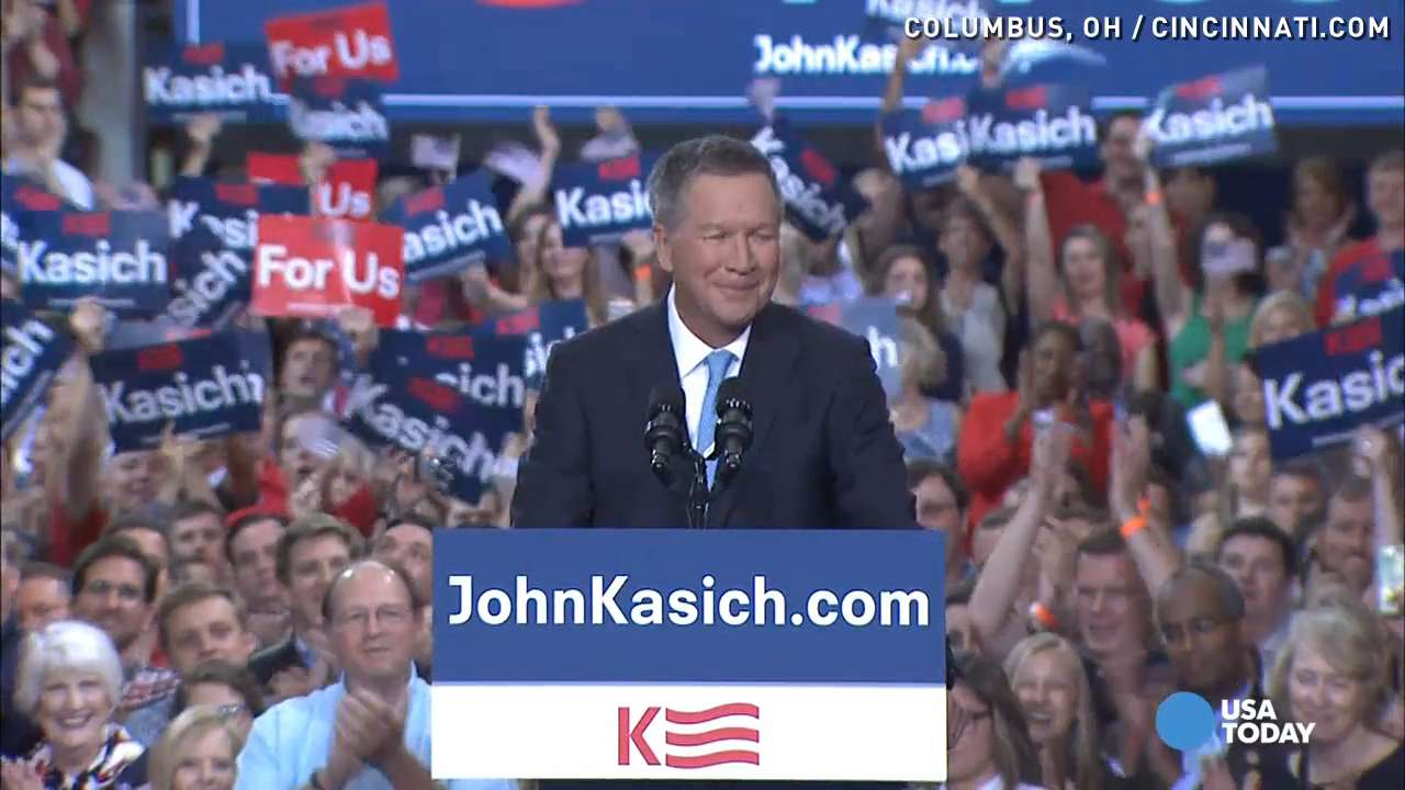 Ohio Gov. John Kasich joins presidential race
