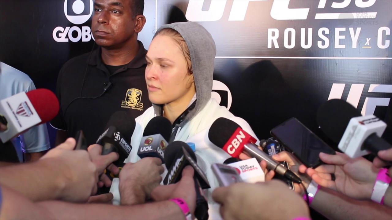 Ronda Rousey ready to teach Bethe Correia a lesson