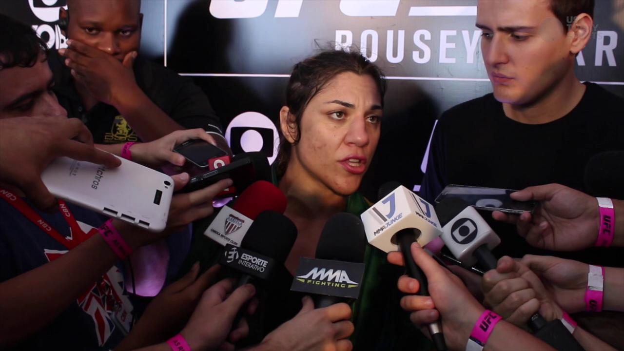 Bethe Correia wants to destroy the myth of Ronda Rousey