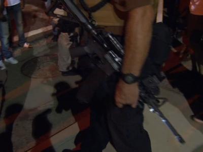 Armed militia group patrolling Ferguson streets