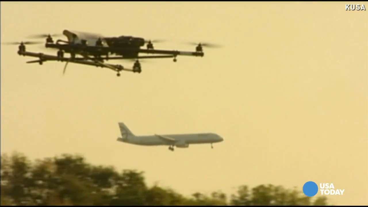 Pilots reporting dangerous uptick in drone sightings