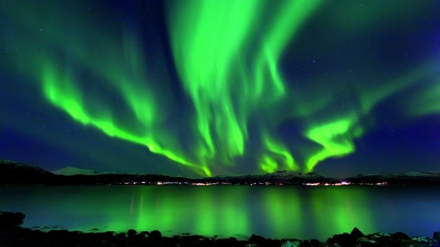 the northern u s might see a rare aurora borealis