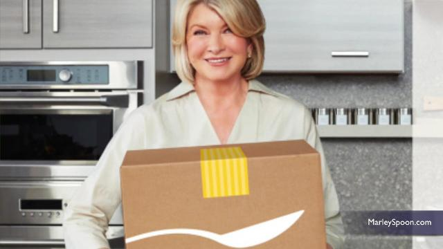 Martha Stewart now has a new ready-to-cook meal kit that can be delivered to your home.  Lauren Gambino (@lauren_gambino) has the story.