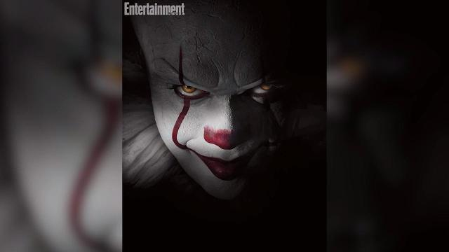 Get a first look at the new Pennywise.