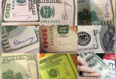 Mystery philanthropist hiding $100 bills all over city
