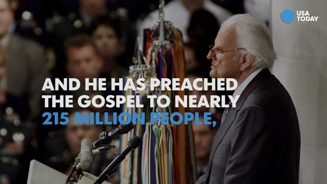 Billy Graham's prolific life