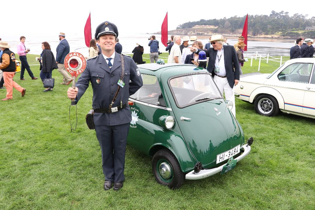 USA TODAY's Chris Woodyard gives us a tour of this rare, one of only four existing 1961 BMW Isetta Police cars. A little police car that made a big impact in communities after WWII.