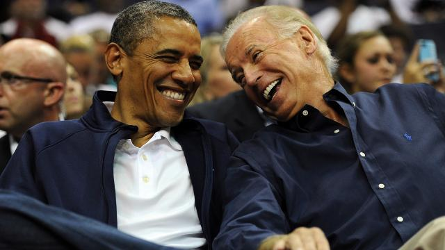The Obama-Biden bromance: From rivals to 'brothers'
