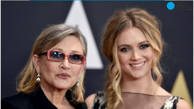 Billie Lourd honors mom Carrie Fisher on her birthday with ice cream, Coke and Tom Petty