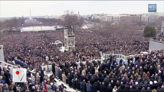 Presidential inaugurations by the numbers
