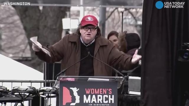 Celebrity speakers at Women's March demand equality