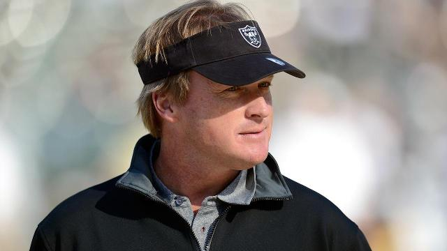 Colts owner Jim Irsay reportedly courting Jon Gruden, Peyton Manning