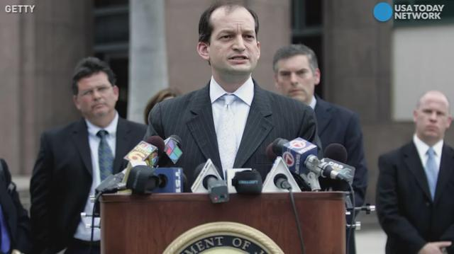 Alexander Acosta is President Trump's nominee for secretary of Labor after Trump's previous nominee, Andrew Puzder, withdrew. Acosta previously served as assistant attorney general during the President George W. Bush administration.