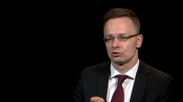 In an AP interview, Hungary's foreign minister said NATO could do more in the fight against the Islamic State. Peter Szijjarto said he agrees with President Donald Trump, that NATO should and could do more in the fight against ISIS. (March 23)