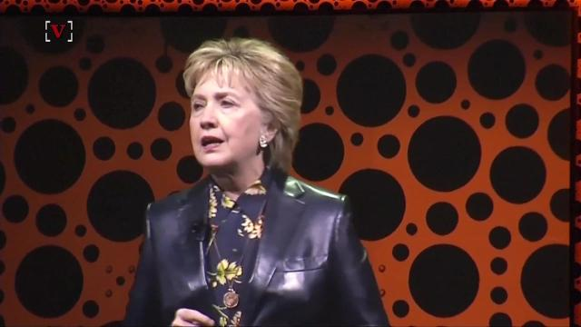 Hillary Clinton made comments at a conference Monday about recent comments she found sexist. Elizabeth Keatinge (@elizkeatinge) has more.