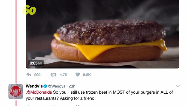 McDonald's a new plan to make Quarter Pounders with fresh beef by mid-2018, and Wendy's was not impressed on social media. Buzz60's Amanda Kabbabe (@kabbaber) has more.