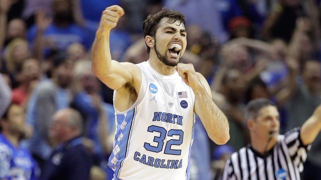 Luke Maye connected on a last-second jump shot to defeat the Kentucky Wildcats and send North Carolina to the Final Four.