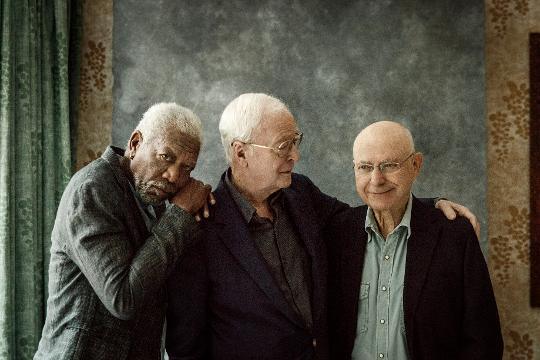 Here's why you won't see Sir Michael Caine rob an actual bank anytime soon. But the Oscar winner and his 'Going in Style' co-stars Morgan Freeman and Alan Arkin would be up to do it again on screen.