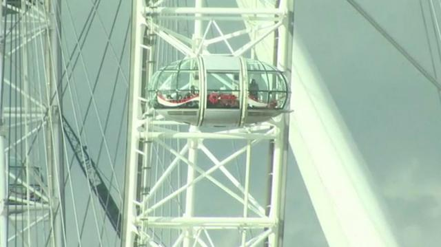 Tourists trapped on London Eye during terror attack
