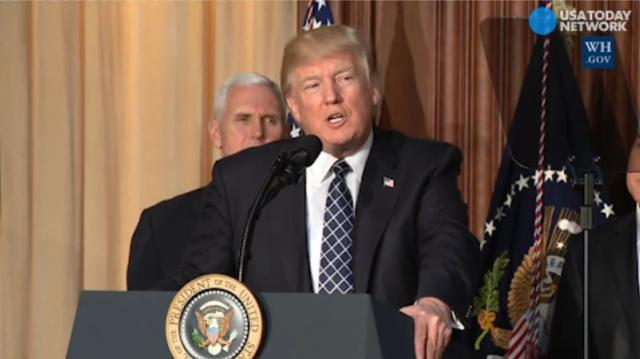 Trump signs order making energy, not climate, a priority
