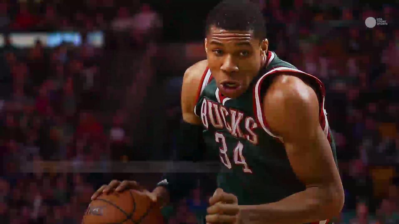 The NBA's 'Greek Freak' on pace to join very exclusive club