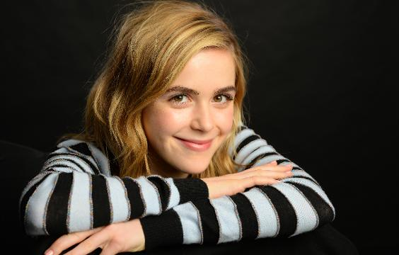 'The Blackcoat's Daughter' star Kiernan Shipka sat with USA TODAY to talk horror flicks and where she thinks Sally Draper from 'Mad Men' might be in 2017.