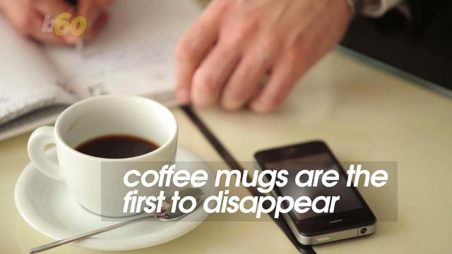 Have a favorite coffee mug? Don't bring it to the office. A new study from security experts ADT shows your coworkers are thieves. Sean Dowling (@seandowlingtv) has more.