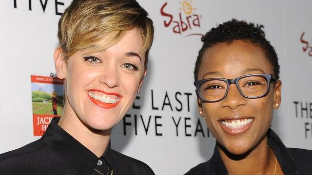 On Saturday afternoon, the Orange Is the New Black star, 29, tied the knot with her longtime partner in an intimate Palm Springs, California, ceremony surrounded by family and friends